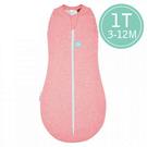 ergoPouch ergoCocoon 二合一竹纖有機舒眠包巾1T(春.秋款)(3-12M) 懶人包巾-桃粉