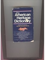 二手書《The American Heritage Dictionary (based on the New Second College Edition)》 R2Y ISBN:0440201896