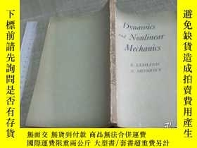 二手書博民逛書店Dynamics罕見and Nonlinear Mechanic