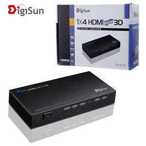 [nova成功3C] DigiSun VH614 3D HDMI一進四出分配器