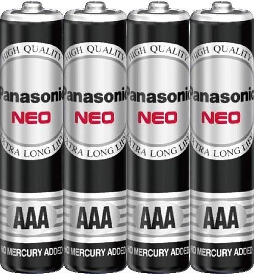 國際牌Panasonic 黑錳電池 4號 AAA 4入