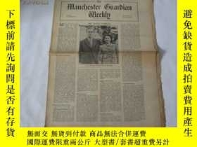 二手書博民逛書店外文原版報紙罕見THE MANCHESTER GUARDIAN WEEKLY 1948年11月18日 第21期 共