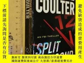 二手書博民逛書店英文原版罕見暢銷小說作家凱瑟琳·庫爾特 Split Second by Catherine CoulterY7