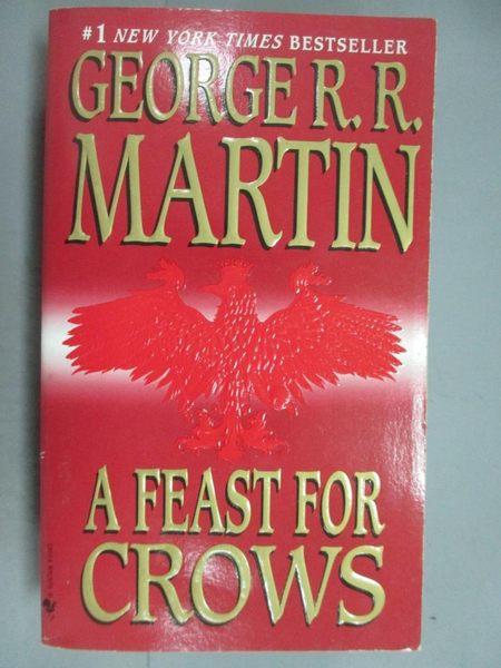 【書寶二手書T6/原文小說_GES】A Feast for Crows_Martin, George R. R.