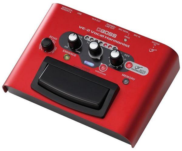 【金聲樂器廣場】BOSS VE-2 人聲和聲效果器 即時辨別吉他和弦 歡迎來電(店)洽詢