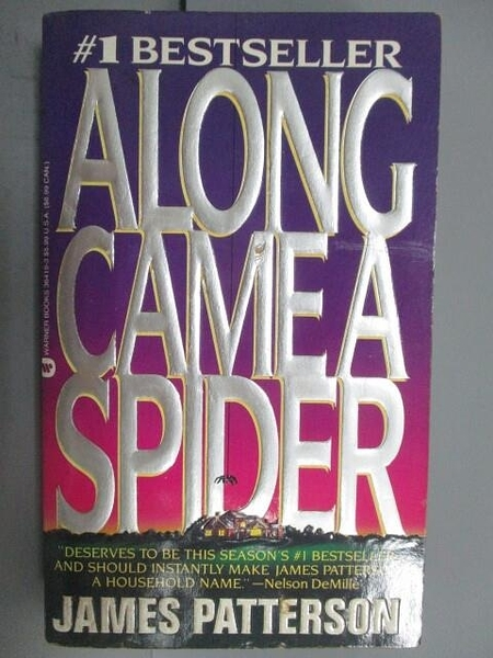 【書寶二手書T4/原文小說_OEE】Along Camea Spider_James Patterson