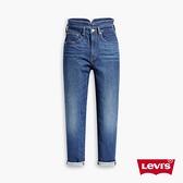 Levis 女款 高腰修身窄管牛仔長褲 / 特殊裁片拉高腰線立顯細腰 / 及踝款 / 彈性布料