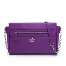 PLAYBOY- 斜背包 經典兔頭系列-亮紫色