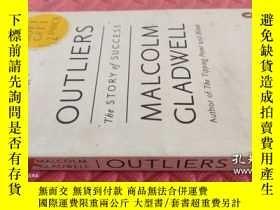 二手書博民逛書店英文原版】Outliers罕見: The Story of Success 異類:不一樣的成功啟示錄Y2216