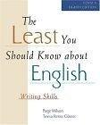 二手書博民逛書店《The Least You Should Know About English: Writing Skills : Form A》 R2Y ISBN:0155062255