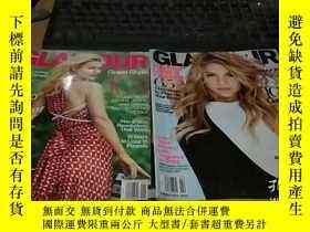 二手書博民逛書店GLAMOUR罕見2014 1.2 英文時尚雜誌 外文原版雜誌Y