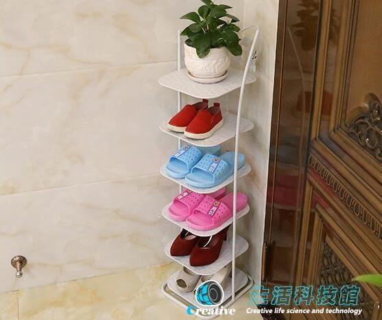 歐式鐵藝創意家用鞋櫃收納置物架現代簡約簡易多層品質奢華型鞋架【全館88折起】