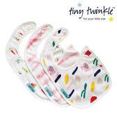 美國 tiny twinkle 圍兜三入/口水巾/領巾(馬提斯/粉條/水果)