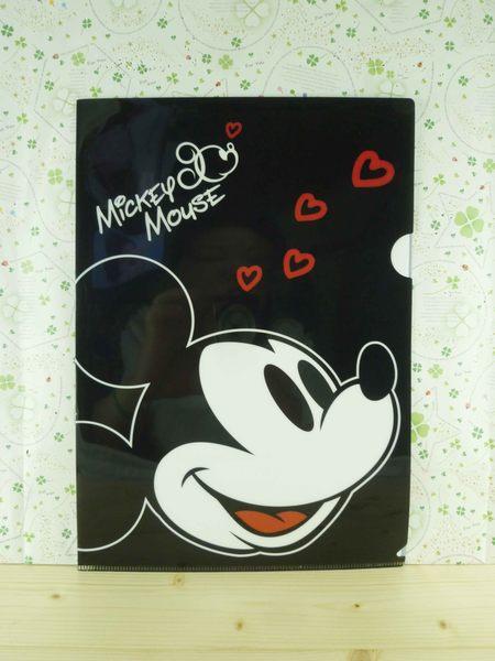 【震撼精品百貨】Micky Mouse 米奇/米妮 ~L夾-黑米奇