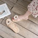 2021年夏季新款百搭ins潮平底羅馬女鞋夏天仙女風女士爆款涼鞋女 夢幻小鎮