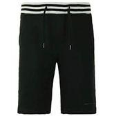 【蟹老闆】Calvin Klein Ck 男短棉褲 腰條紋設計 黑色