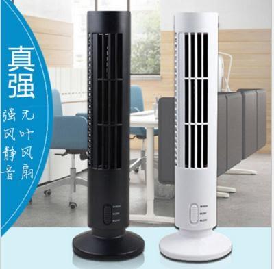 USB無葉風扇 迷你塔扇 強力靜音塔式風扇