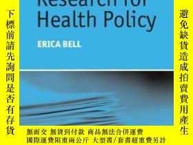 二手書博民逛書店【罕見】Research For Health Policy 2