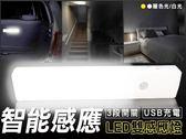 二代磁吸-狠亮LED雙感應燈(環保高效能充電式)白光/暖色光