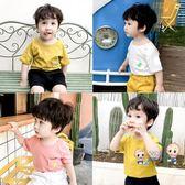 運動T恤 兒童短袖男童t恤棉質體恤小男孩上衣小童半袖衣童裝寶寶夏裝寬鬆 3色