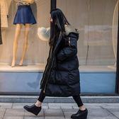 情侶可穿羽絨鋪棉外套大衣-韓國爆款匹諾曹朴信惠款超長款保暖大衣風衣外套 免運直出 交換禮物