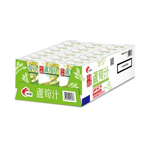 光泉正庄蘆筍汁250ml*24【愛買】