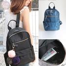 Catsbag|韓式簡約雙拉鍊防水後背包...