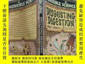 二手書博民逛書店disgusting罕見digestion 惡心的消化..Y200392
