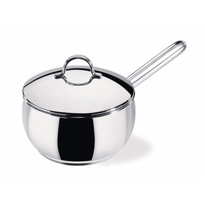 Lagostina樂鍋史蒂娜 Pandora 18公分不鏽鋼單柄湯鍋(加蓋)