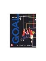 二手書博民逛書店《Mega Goal (1) with Audio CDs/2片