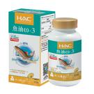 【永信HAC】魚油ω-3軟膠囊(60粒/瓶)