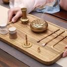 香道 青沉純銅套裝沉香爐檀香粉入門工具復古個性香勺灰壓香篆禮盒 - 古梵希