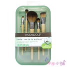 ecotools 彩妝刷具5件組 眼影刷...