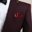兩用直插式男士口袋巾 禮服配飾
