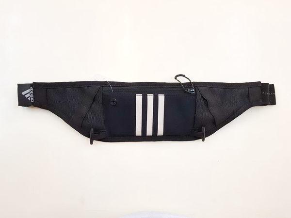 ADIDAS 運動腰包-黑 G79389