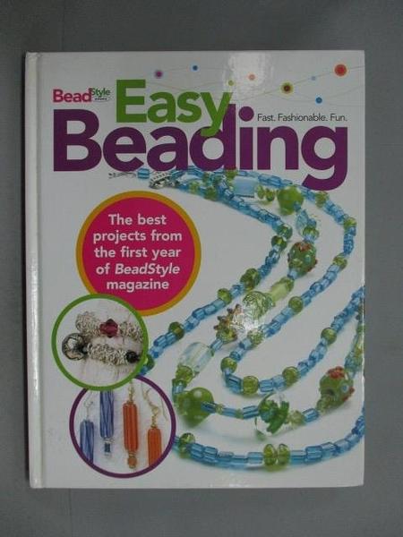 【書寶二手書T5/美工_ZAJ】Easy Beading_Beadstyle (EDT)