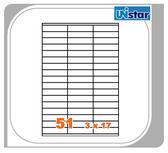 【量販10盒】裕德 電腦標籤 51格 US4459 三用標籤 列印標籤 量販型號可任選