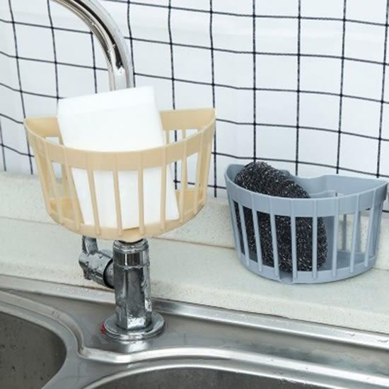 ✭慢思行✭【Q100】 收納架 置物架 廚房 瀝水架 收納籃 掛架 洗手台 浴室 掛籃 多功能收納瀝水籃