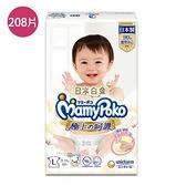 滿意寶寶 極上呵護L號x52片x4包/箱購(日本製/嬌聯最新到貨)【愛買】