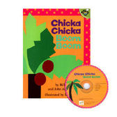 【麥克書店】CHICKA CHICKA BOOM BOOM  /英文繪本附CD《字母.趣味》(中譯:嘰喀嘰喀碰碰)