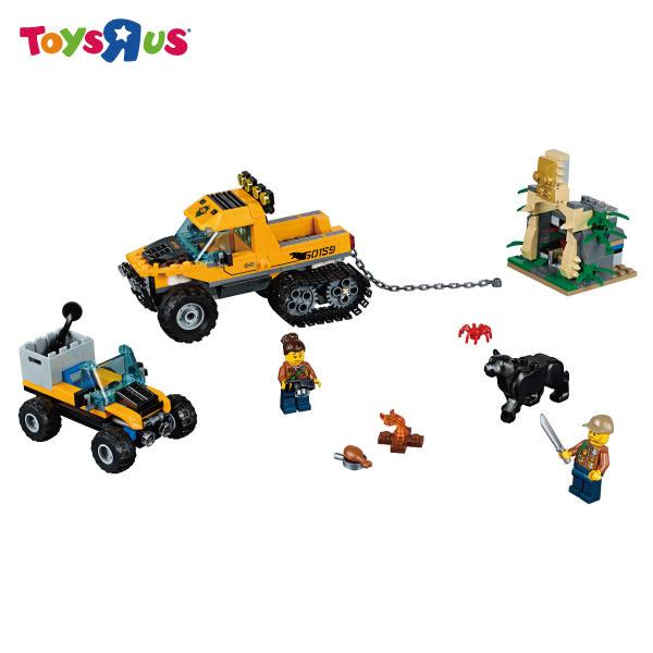 玩具反斗城 樂高LEGO 60159 叢林履帶卡車