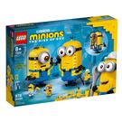 75551【LEGO 樂高積木】Minions 小小兵系列 - built Minions Figures and their Lair (928pcs)