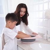 創意可折疊洗臉盆 新生嬰兒童用品 洗屁屁用小盆子