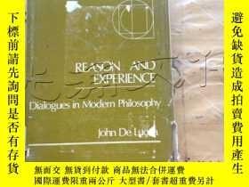 二手書博民逛書店Reason罕見& Experience: Dialogues