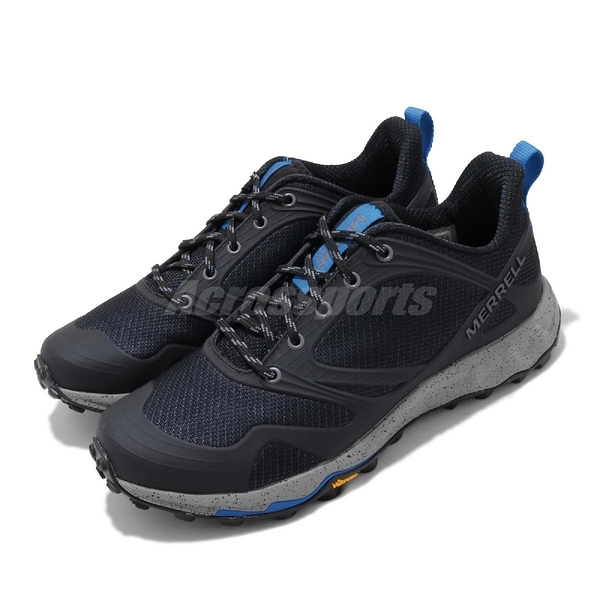 Merrell 戶外鞋 Altalight Knit 黑 藍 越野鞋 耐磨 男鞋 【ACS】 ML033191