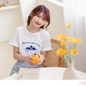 《AB15424》水果點心盒高含棉短袖T恤/上衣 OrangeBear
