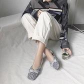 仙女的鞋子平底秋夏季新款韓版百搭網紅單鞋豆豆鞋女淺口瓢鞋 夢想生活家
