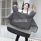 擋風被電動摩托車擋風被冬季加絨加厚雙面保暖電瓶車電車秋冬防水防寒罩【快速出貨】