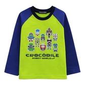 『小鱷魚童裝』機器人印花T恤(02號~10號)554438