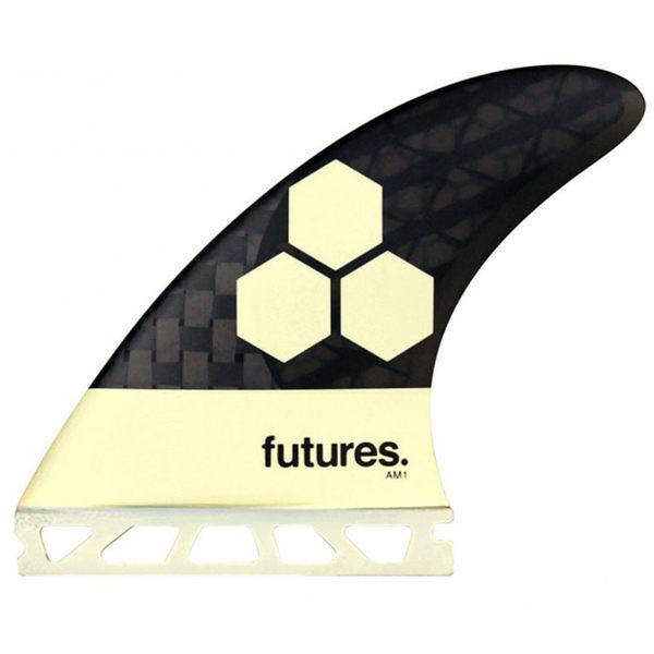 Channel Islands 專業衝浪配件 : FUTURE AM1 BLACKSTIX 3.0 衝浪板舵  (一組三支)